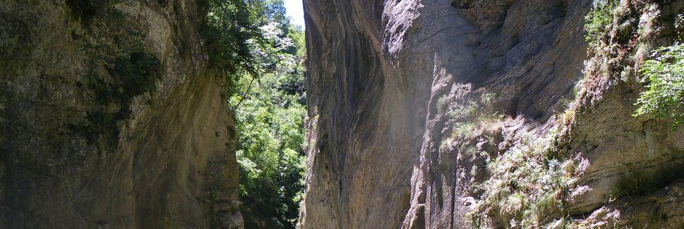 Cascade des Marmore, Terni, Ombrie, Italie