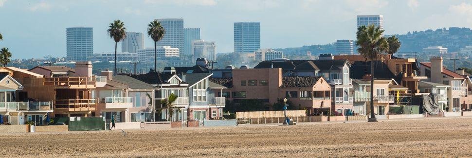 Półwysep Balboa, Newport Beach, Kalifornia, Stany Zjednoczone