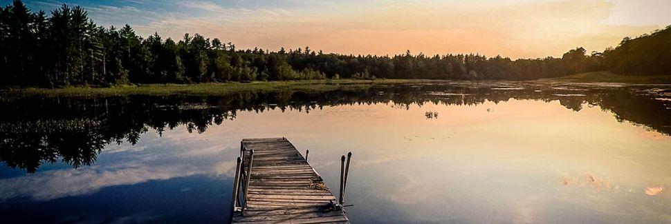 Peabody Pond, Sebago, Maine, Estados Unidos