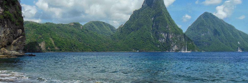 Choc Beach, Castries, Saint Lucia