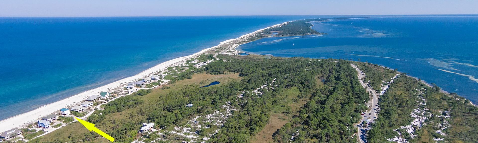 Secluded Dunes (Port St. Joe, Florida, Forente Stater)