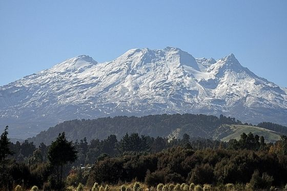 Whakapapa Ski Area, Tongariro National Park, North Island, New Zealand