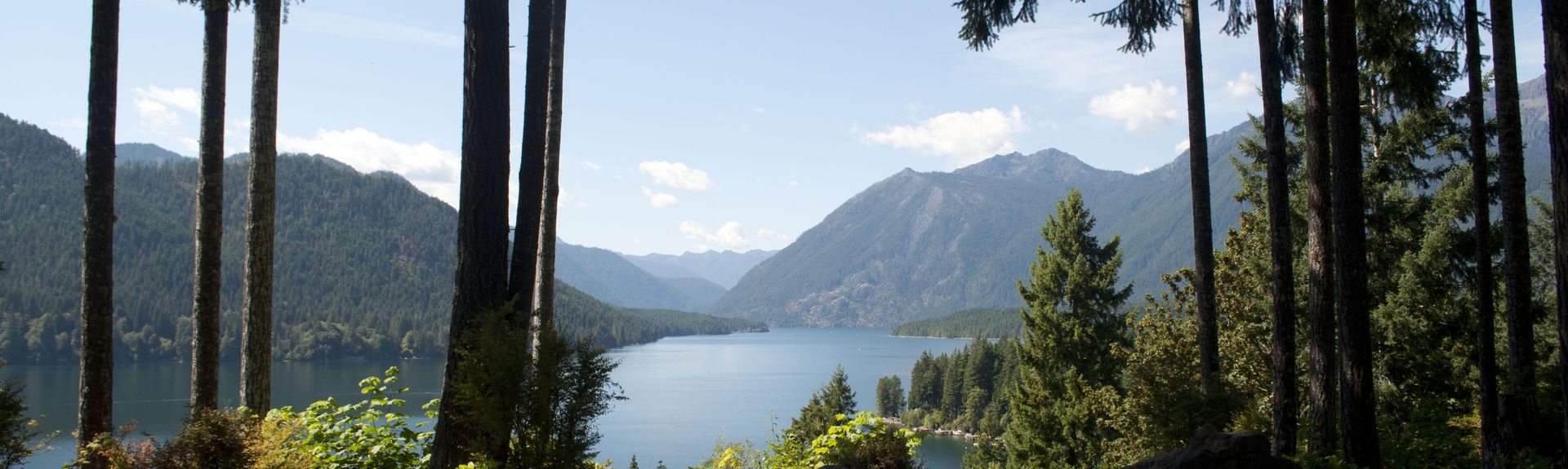 Lake Cushman, Washington, USA