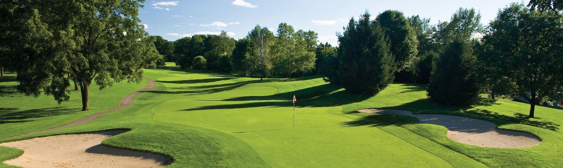 Club de golf Milham Park, Kalamazoo, Míchigan, Estados Unidos