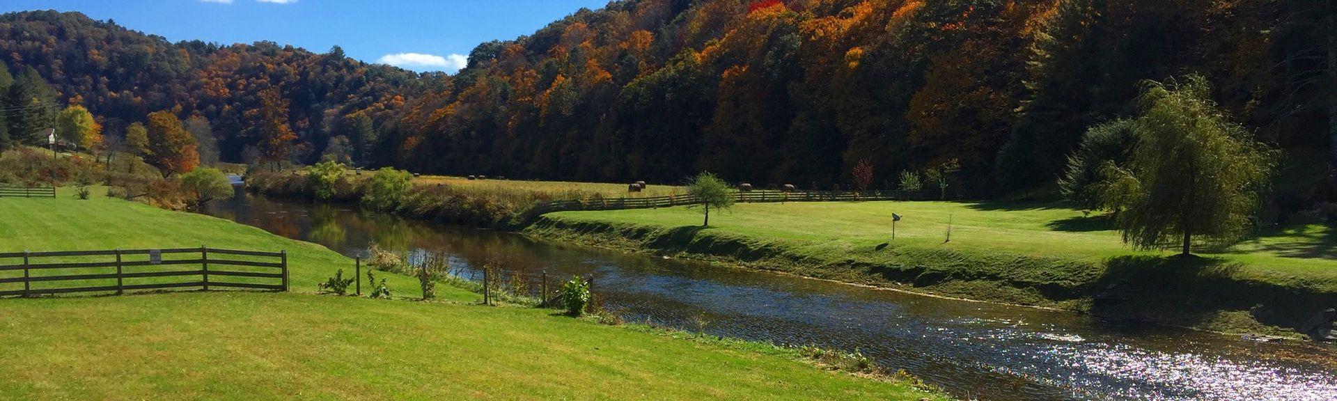 Parque Broyhill, Blowing Rock, Carolina do Norte, Estados Unidos