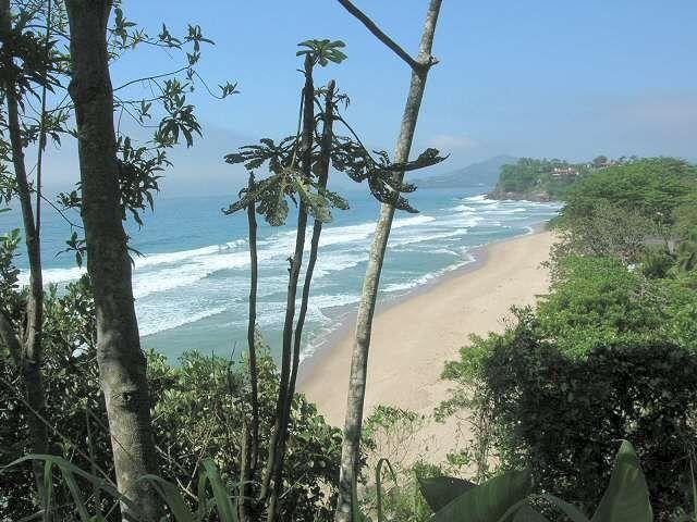 Praia Grande, Ubatuba, São Paulo, Brasilien