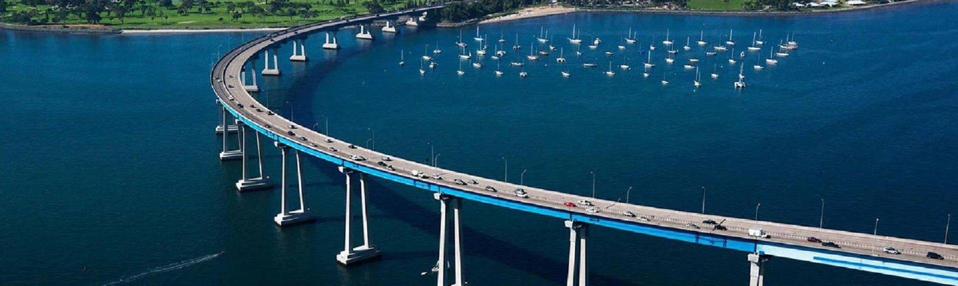 San Diego Coronado Bridge, Coronado, California, USA