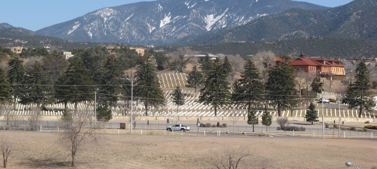 Santa Fe Plaza, Santa Fe, New Mexico, United States of America
