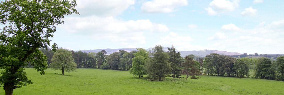 Zamek w Aberdour, Burntisland, Szkocja, Wielka Brytania