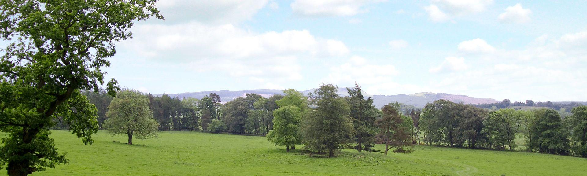 Aberdour Castle, Burntisland, Scotland, UK