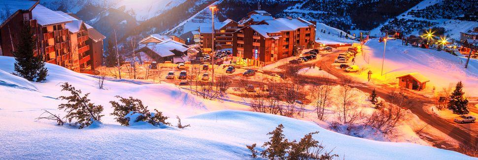 l'Alpe-d'Huez, Huez, Auvergne - Rhône - Alpes, Frankrike