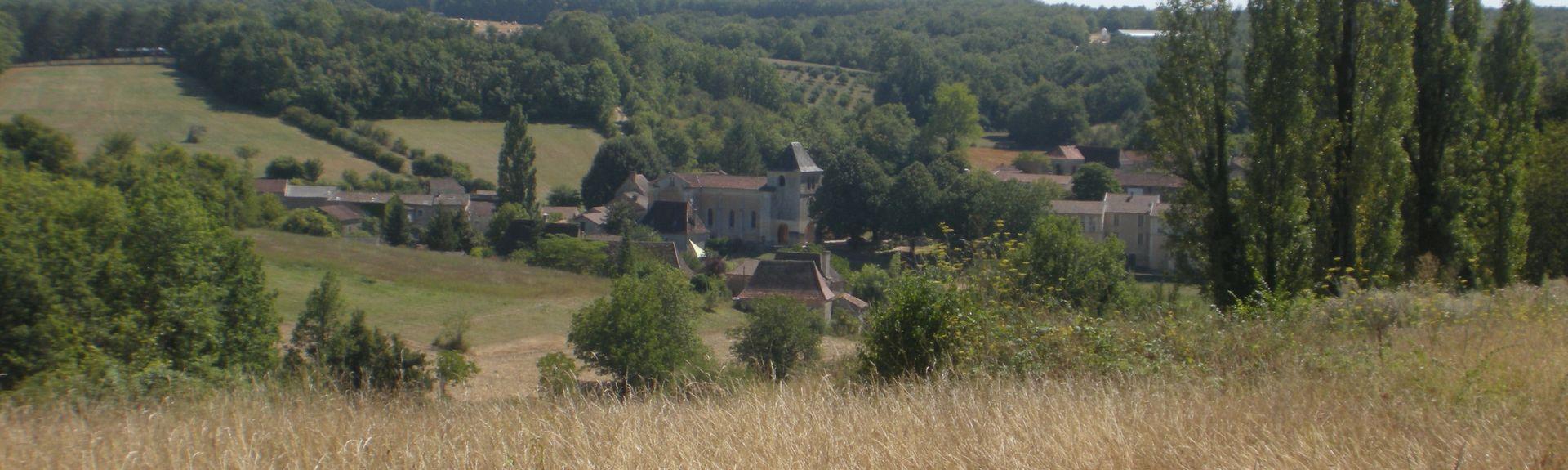 Lanquais, Nouvelle-Aquitaine, Francia