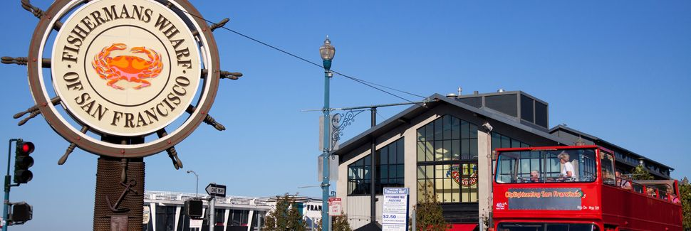 Fisherman's Wharf, San Francisco, California, Stati Uniti d'America