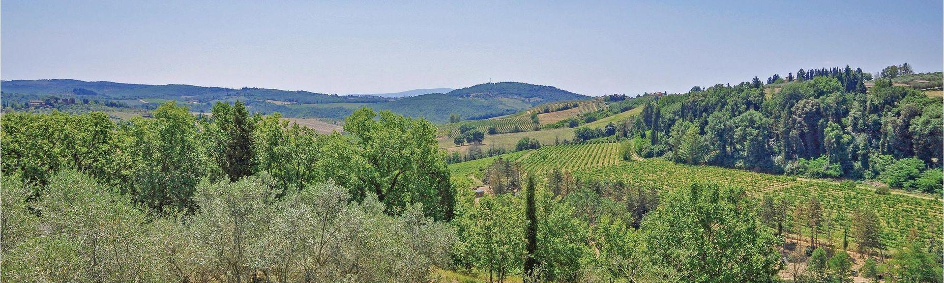 Serravalle Pistoiese, Toscane, Italië