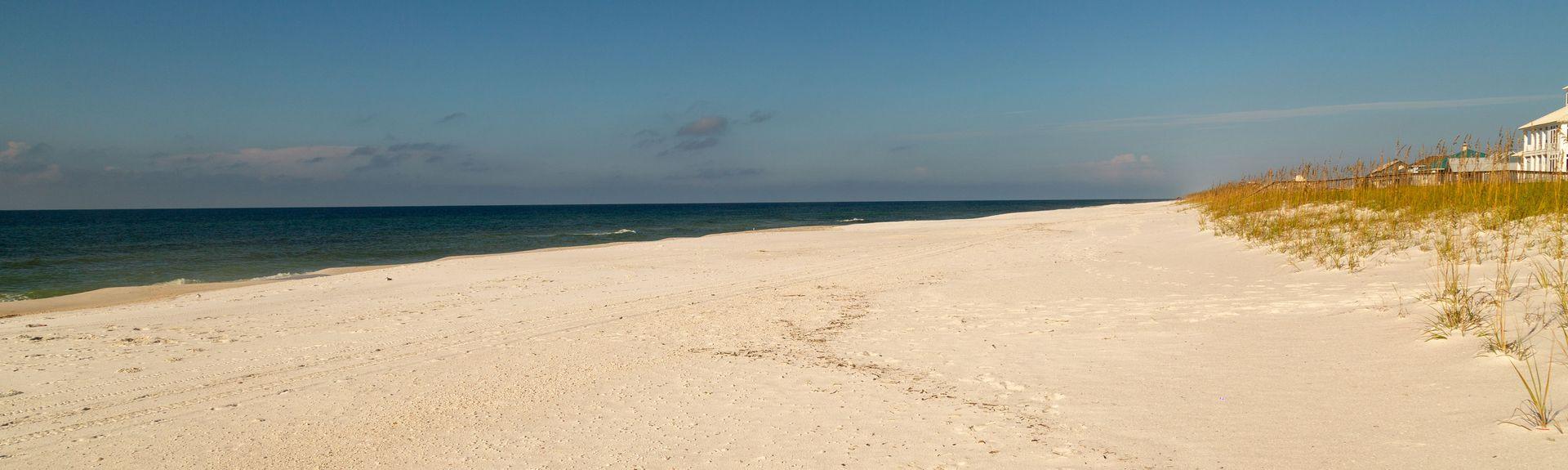 Pensacola Beach Pier, Pensacola Beach, Florida, USA