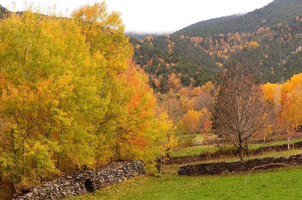 El Pallars Sobirà, Cataluña, Spania