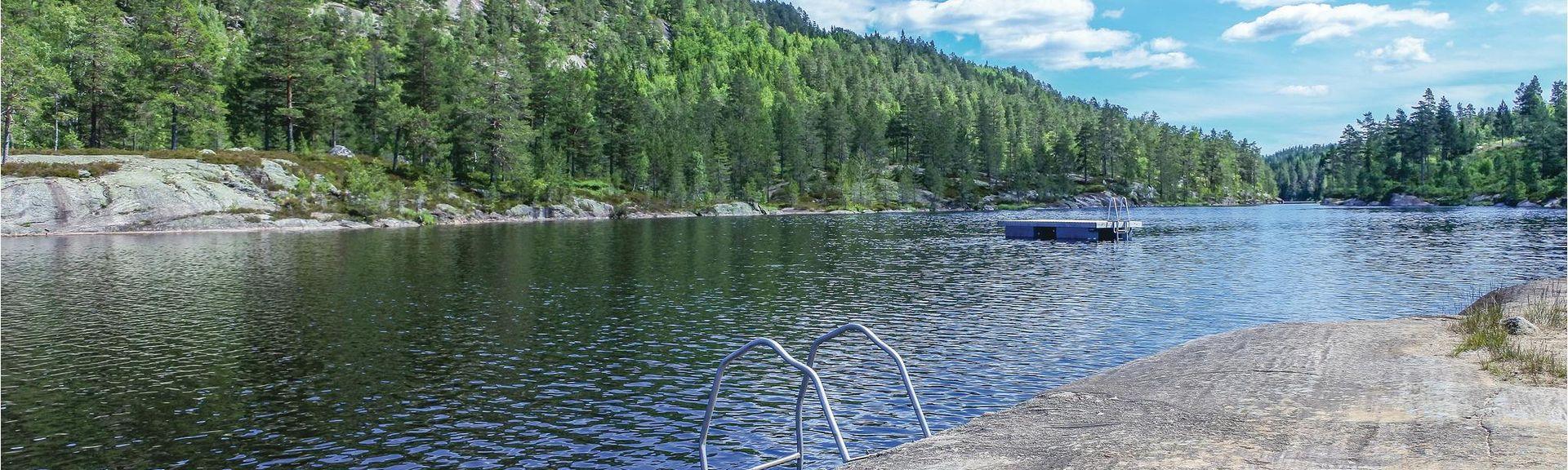 Treungen, Comté de Telemark, Norvège