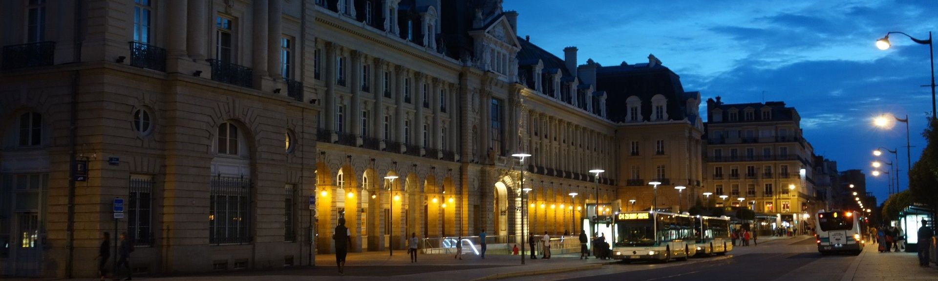 Zentrum, Rennes, Ille-et-Vilaine, Frankreich