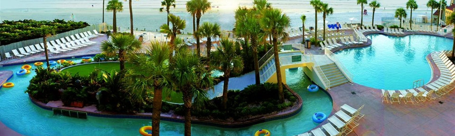 Wyndham Ocean Walk, Daytona Beach, FL, USA