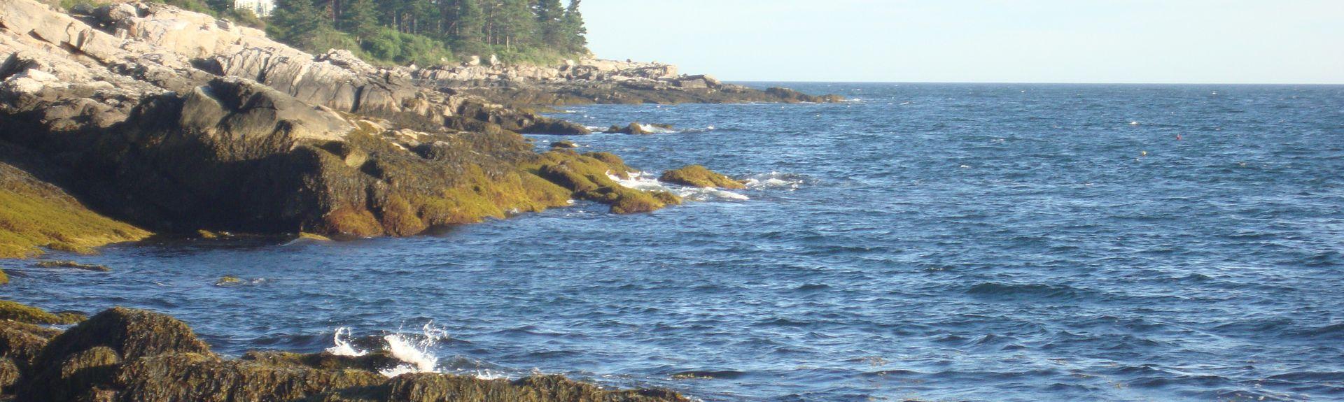 Pemaquid Point, Bristol, Maine, États-Unis d'Amérique