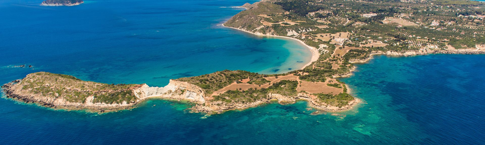 Argassi Beach, Zakynthos, Greece