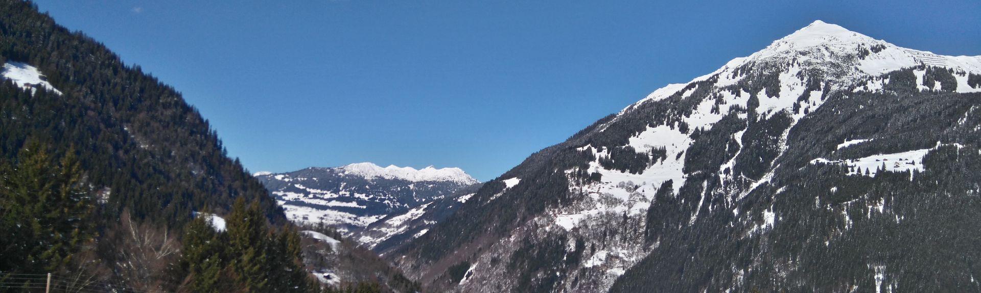 Tschagguns, Vorarlberg, Oostenrijk