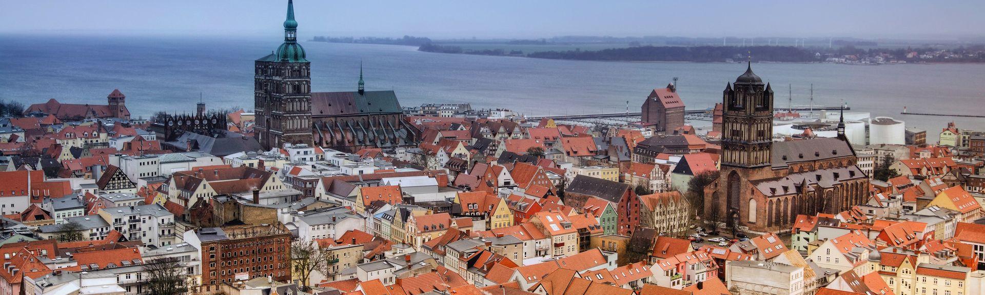 Stralsund, Meklemburgia — Pomorze Przednie, Niemcy