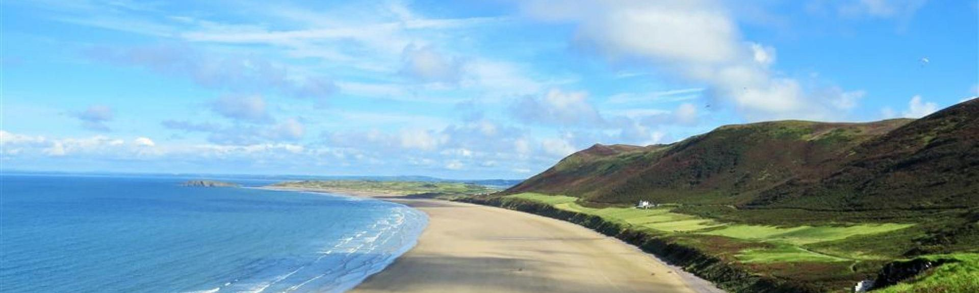 Playa de Rhossili, Gales, Reino Unido