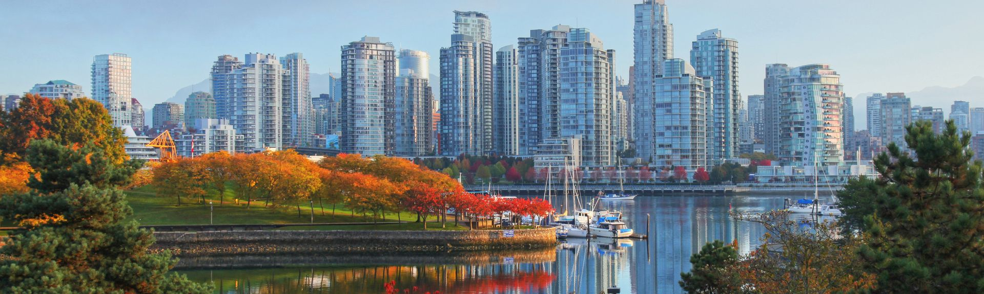 Coal Harbour, Vancouver, British Columbia, Canadá