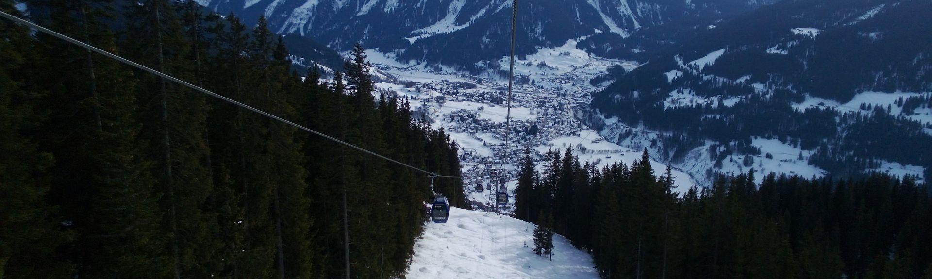 Küblis, Graubünden, Schweiz