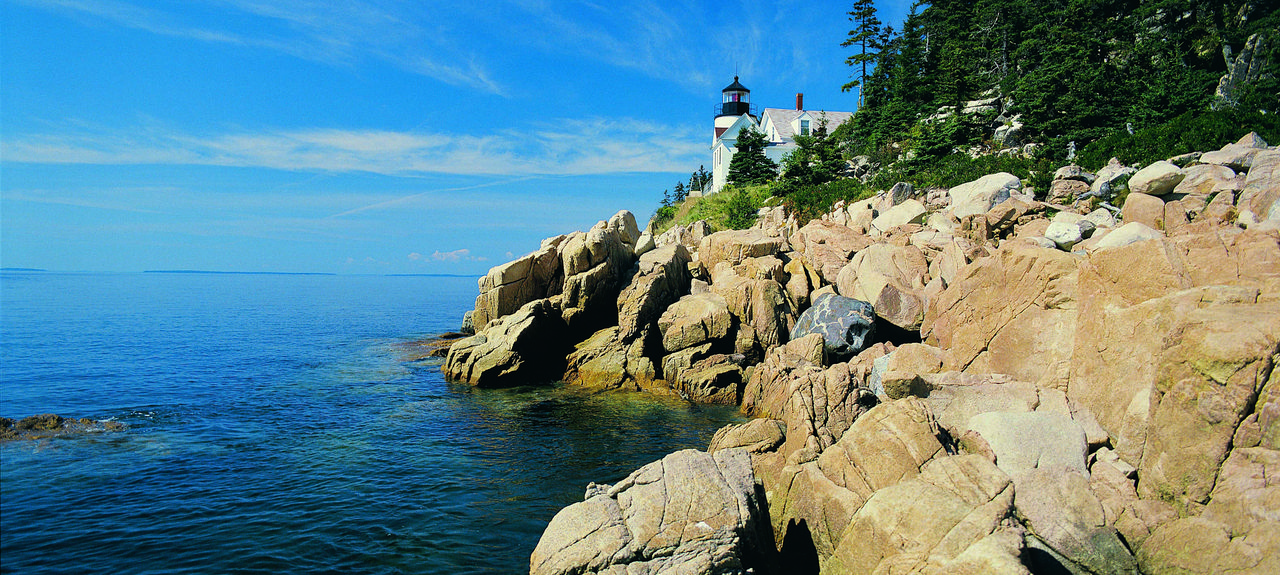 Parc national d'Acadia, Bar Harbor, Maine, États-Unis d'Amérique