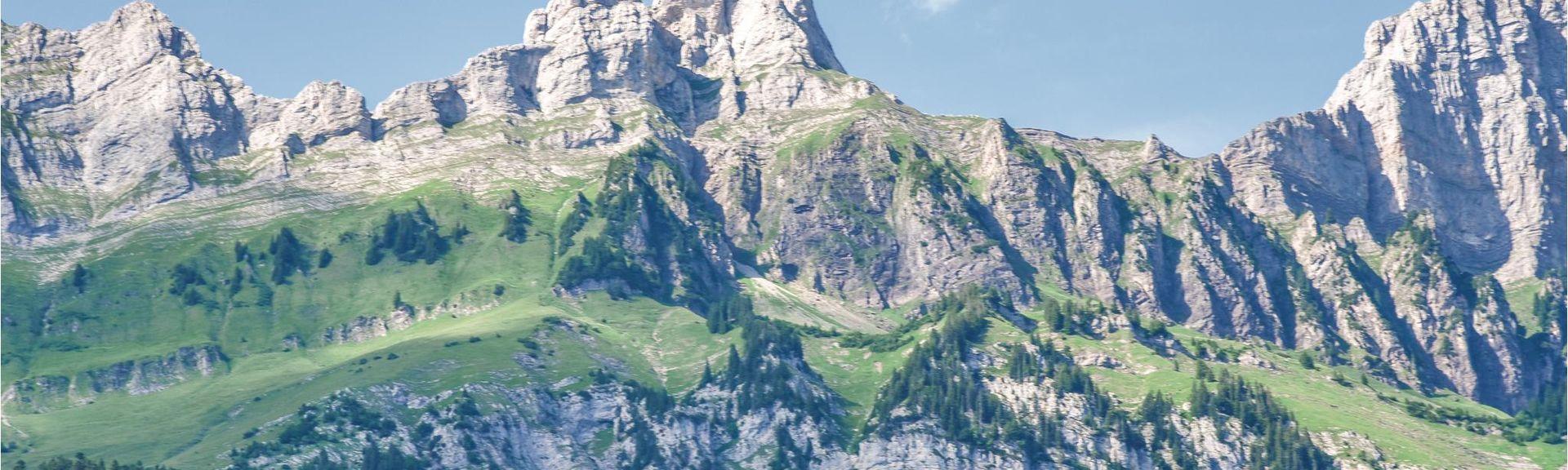 Alt Sankt Johann, Kanton St. Gallen, Schweiz