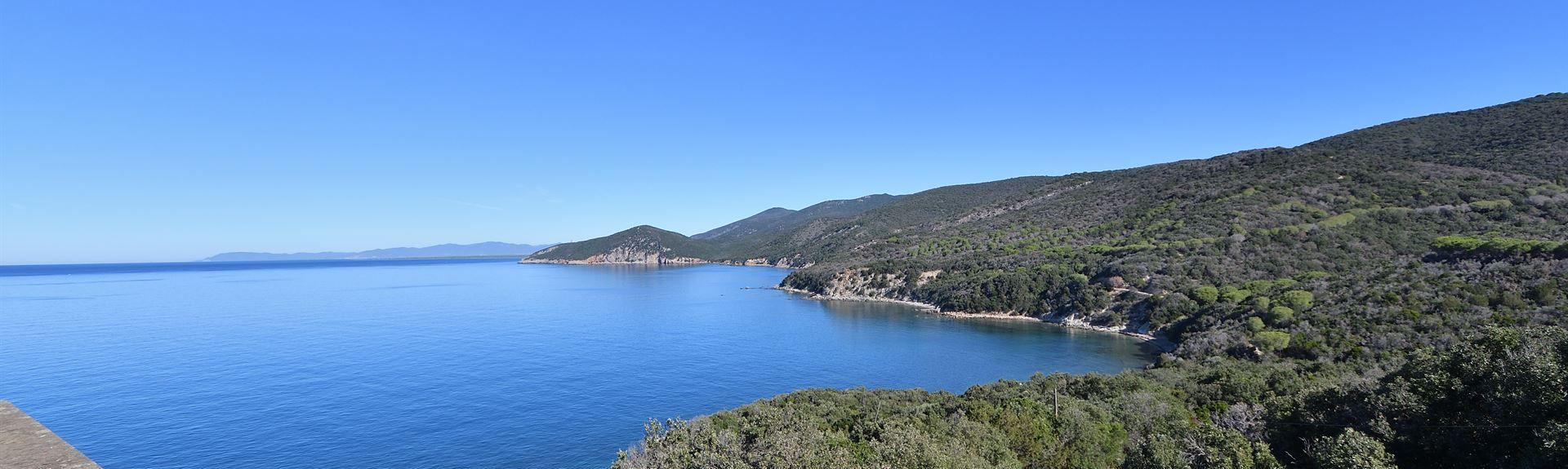 Arenella Beach, Isola del Giglio, Italy
