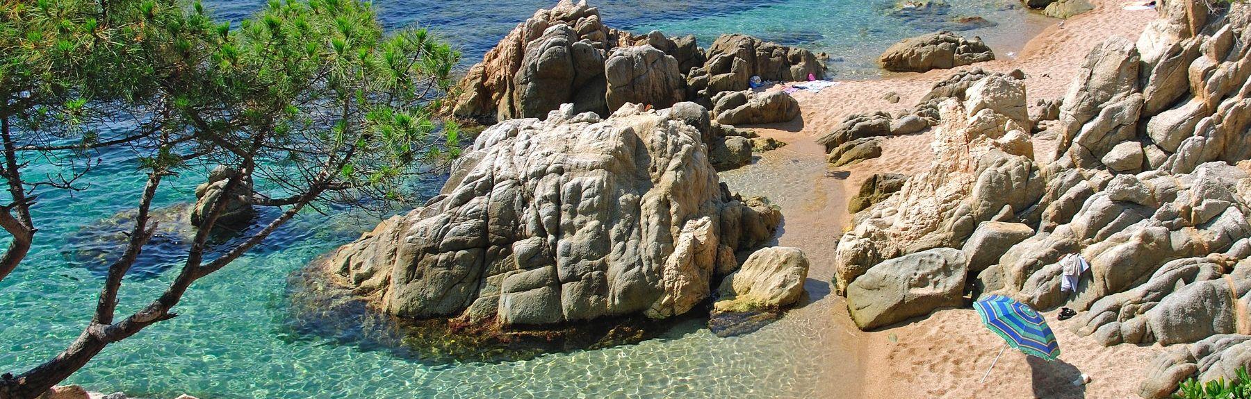 Cala Bona, Tossa de Mar, Girona, Spain