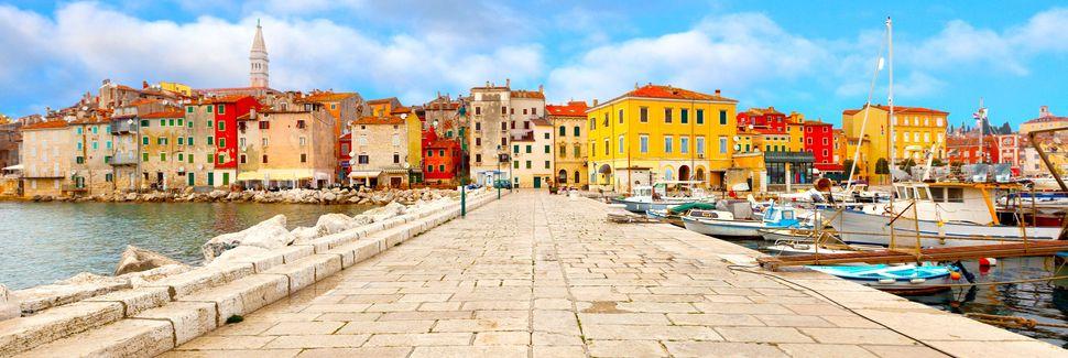 Porec, Istrië, Kroatië