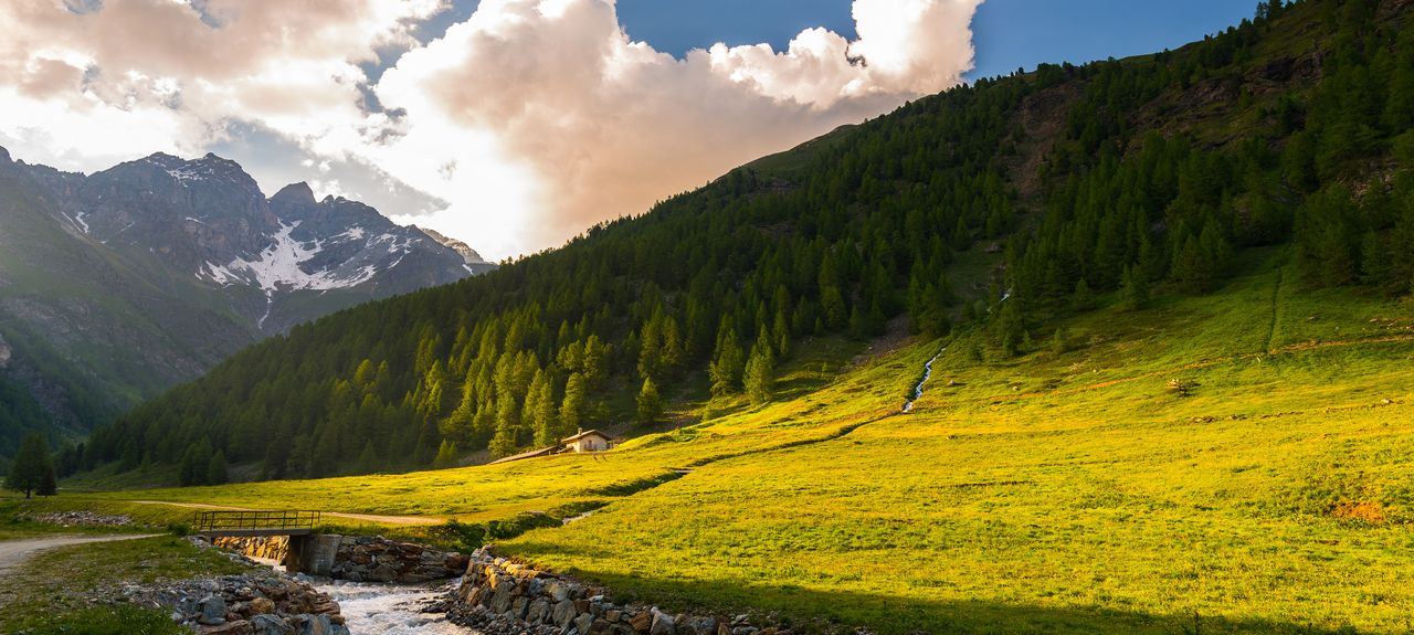 Aosta, Aostatal, Italien