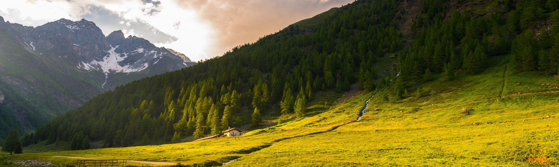 Aosta, Aostadalen, Italia