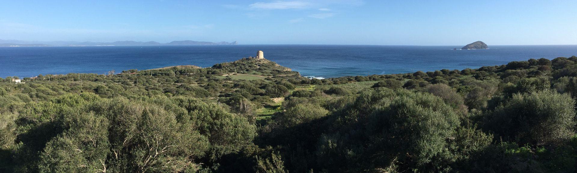 Porto Pino, South Sardinia, Sardinia, Italy