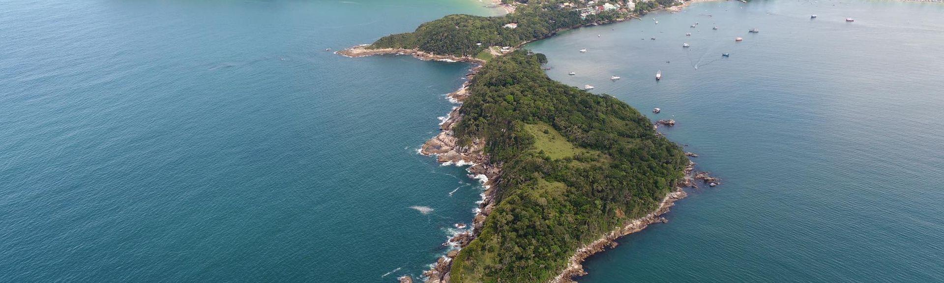 Praia de Bombinhas, Bombinhas, Região Sul, Brasil