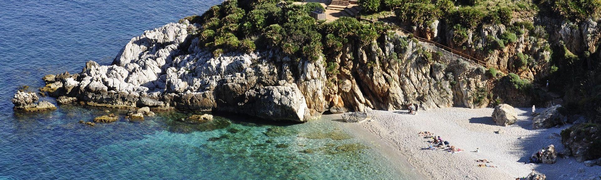 Capo Mongerbino, Aspra, Sicilia, Italia