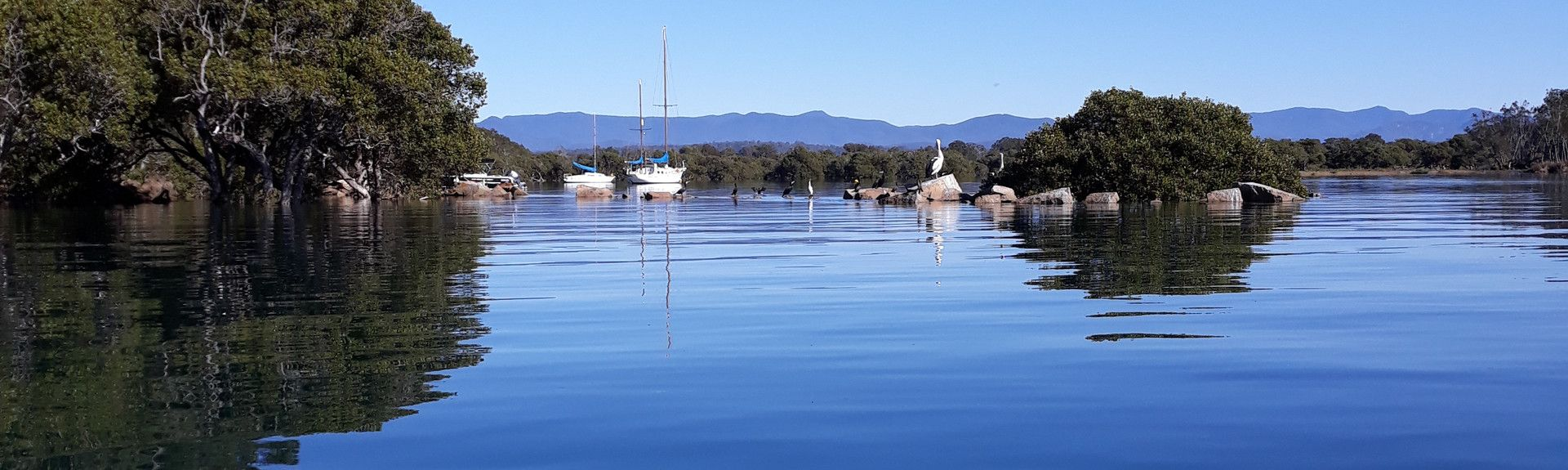 Batemans Bay Marina, Batemans Bay, New South Wales, Australia