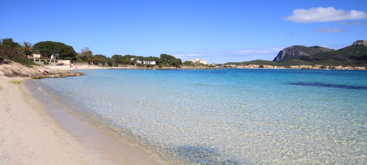 Pittulongu Beach, Olbia, Italy