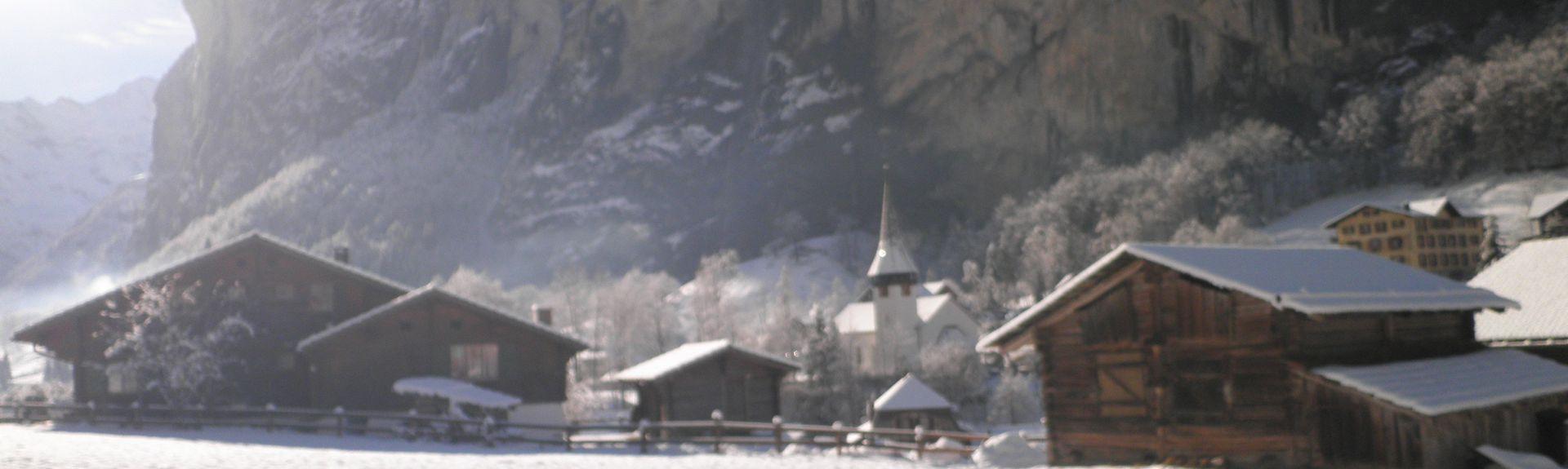 Bettmeralp Ski Resort, Bettmeralp, Valais, Switzerland