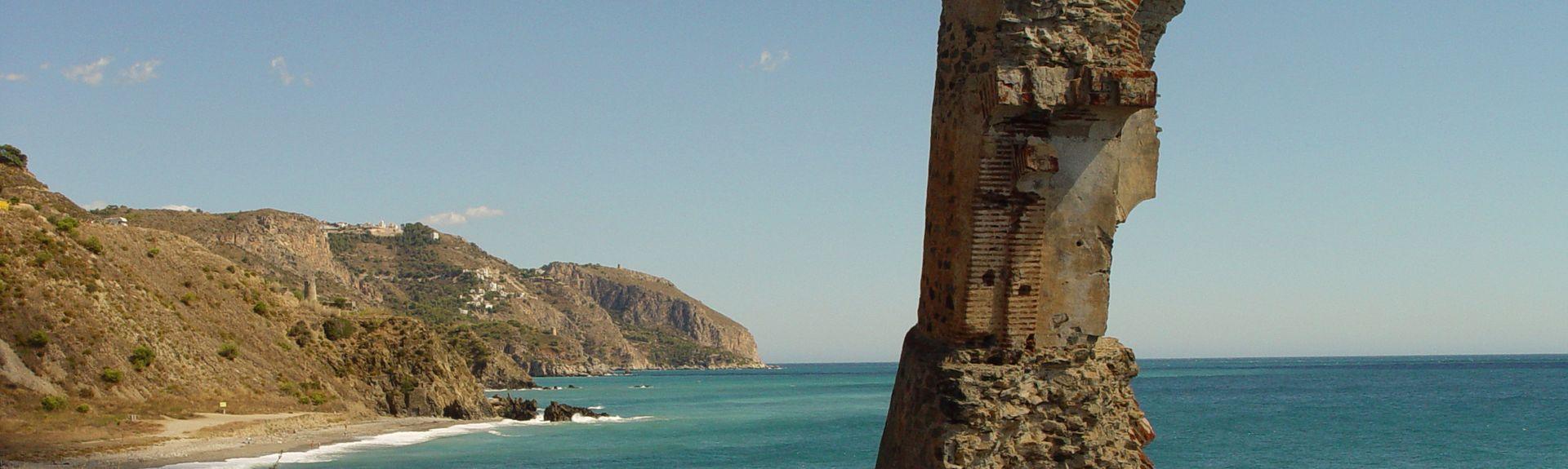 Acapulco Playa, Andalusien, Spanien