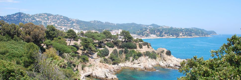Playa Santa Maria de Llorell, Catalogna, Spagna