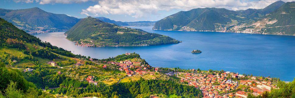 Lago d'Iseo, Lombardia, Italia