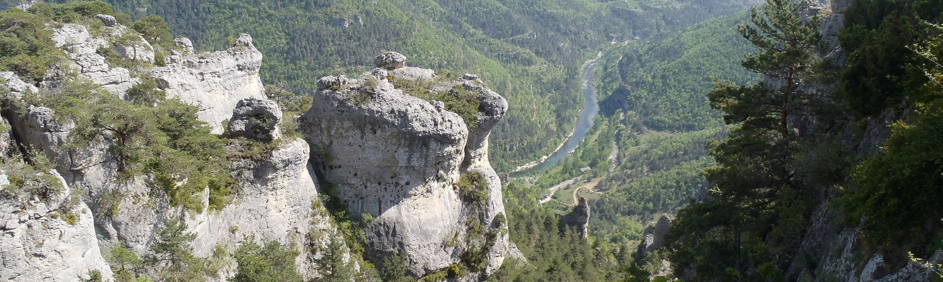 Massegros Causses Gorges, Lozere, France