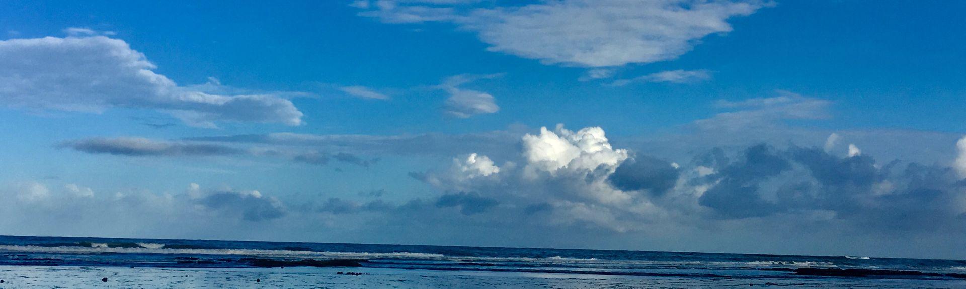 Praia de Arembepe, Camacari, Regio noordoost, Brazilië