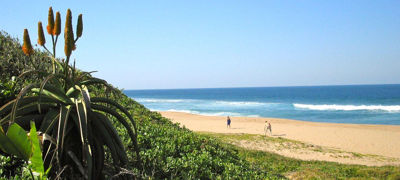 Ballito Beach, Dolphin Coast, Provincia di KwaZulu-Natal, Sudafrica