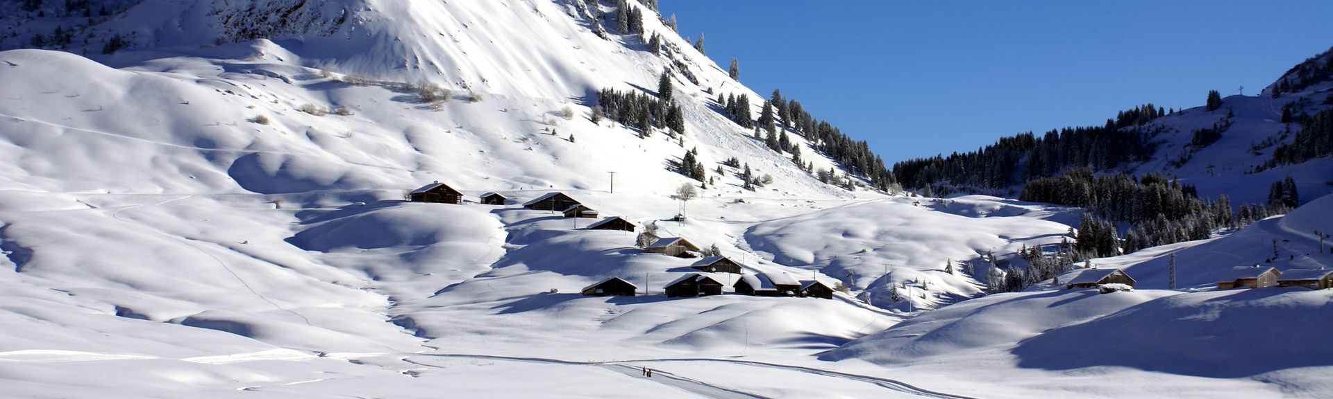 Le Praz de Lys, Taninges, Haute-Savoie (department), France
